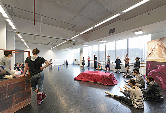 The site is now home to the Melbourne Ballet Company.