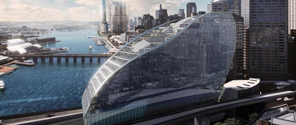Planning approval has been granted for the $700m hotel Grocon is developing on Sydney's Darling Harbour waterfront.