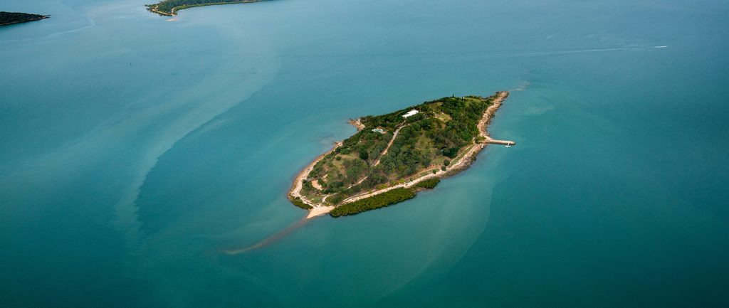 Queensland's Turtle Island is up for sale.