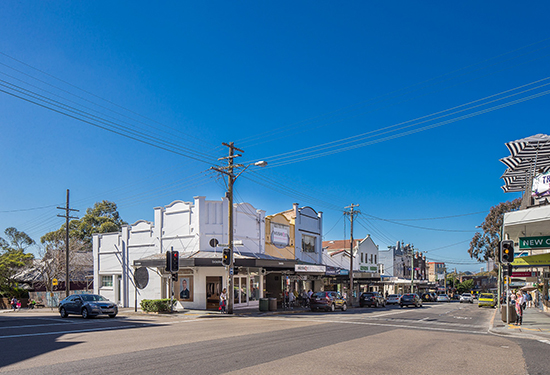 Two freehold titles at this popular Balmain corner are up for sale.