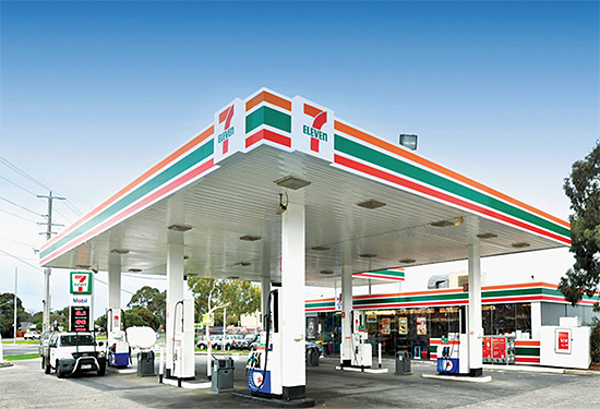 A 7-Eleven outlet in Carrum Downs was passed in.