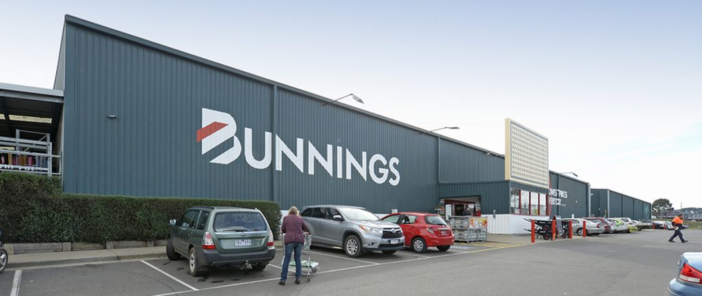 A Bunnings Warehouse in Warragul is set to be sold at a Burgess Rawson investment auction.
