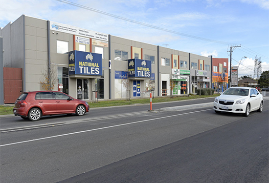 A facility leased to National Tiles in South Morang sold for $1.95 million.