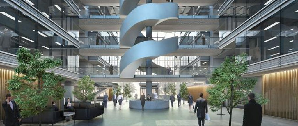 An artist's impression of the One Canberra building from developer the Willemsen Group.