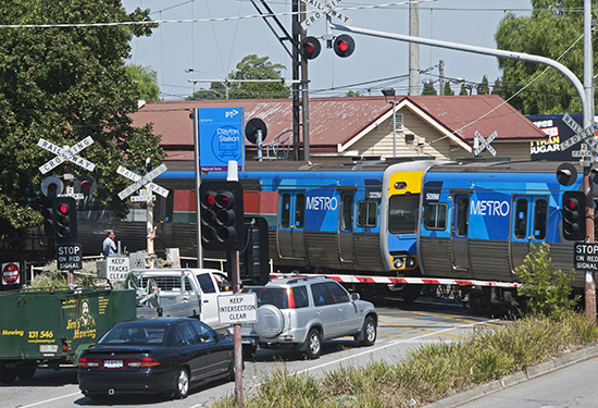 Melbourne's Level Crossing Removal Project is gathering pace.