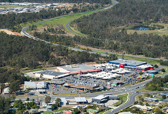Yamanto Shopping Village is 35km south-west of Brisbane's CBD.