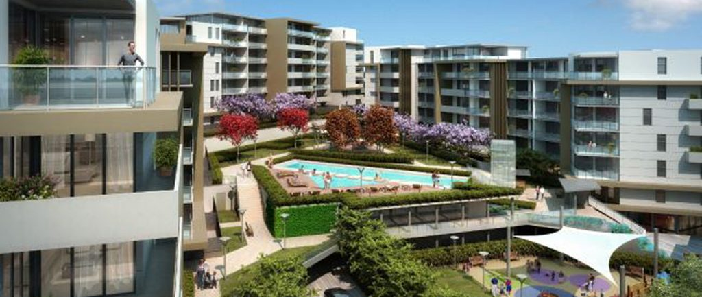 Artist's impression of another JQZ apartment project in Turrella, Sydney