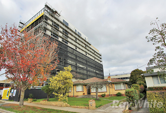 The Glen Waverley site was sold for $6.25 million prior to auction.
