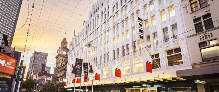 Myer sells off iconic Bourke St store