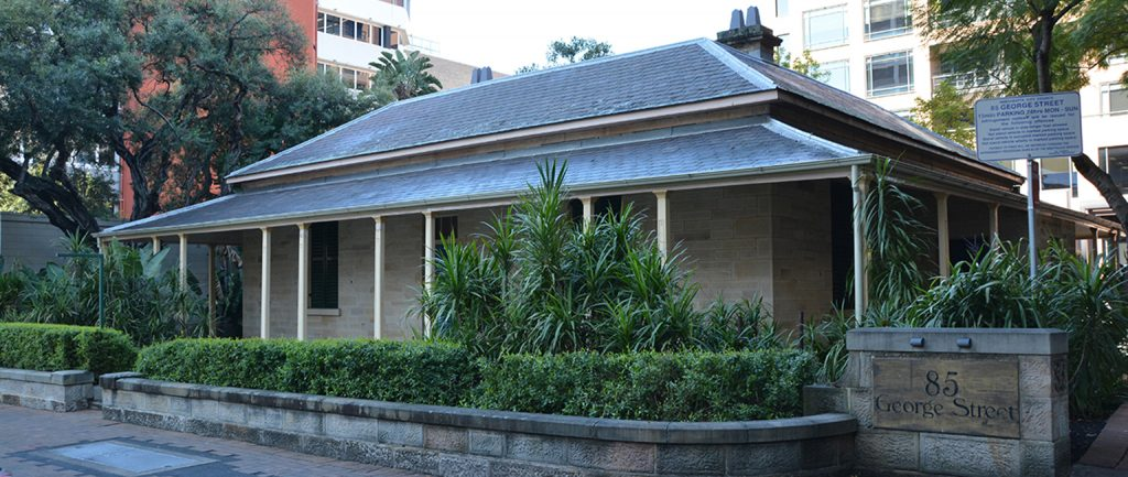 The Salvation Army is selling a historic cottage in the Parramatta CBD.