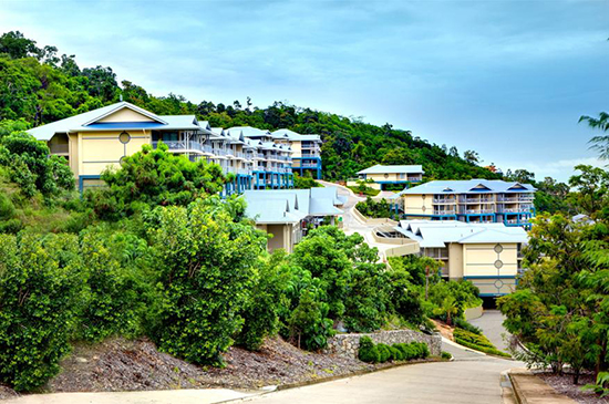Peppers Airlie Beach resort is on the market through receivers McGrathNicol.