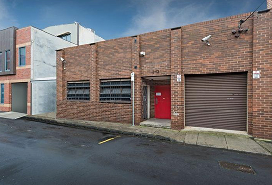 The Prahran warehouse and office sold for $2 million.