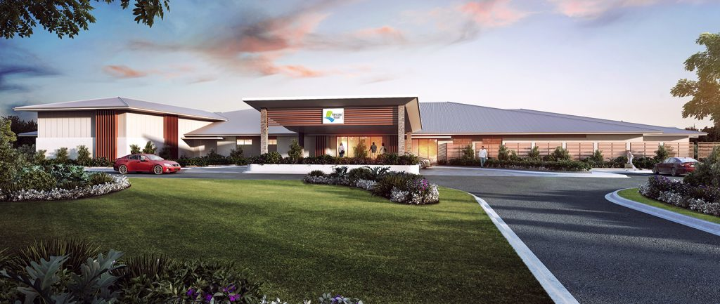 The Palm Lake Group is developing a new retirement village on land at Little Mountain.