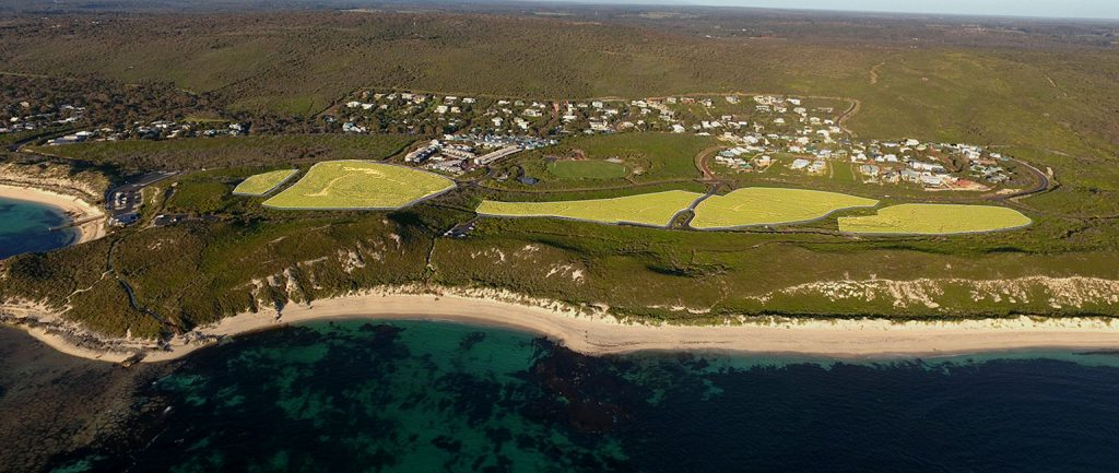 The proposed resort land at Western Australia's Margaret River is expected to fetch $10 million.