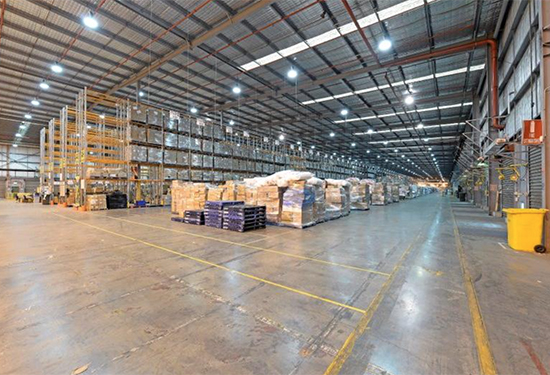 Target's warehouse is on the leasing market.