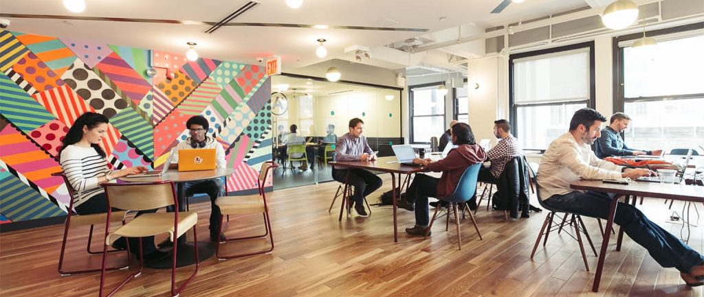 Australia's first WeWork co-working hub opened in Sydney.