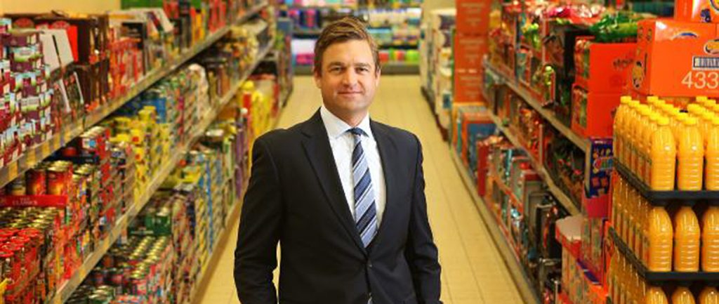 Aldi's Tom Daunt: 'We will grab a little bit more share'. Picture: John Feder