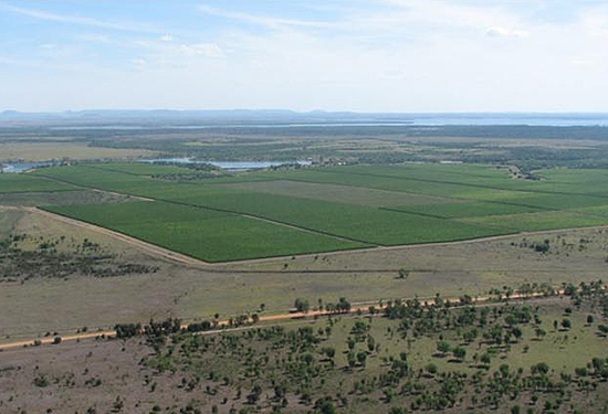 Evergreen Farms comprises 5077ha across two adjoining properties.
