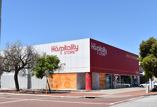 A Perth property leased to The Hospitality Store has sold for $2.9 million.