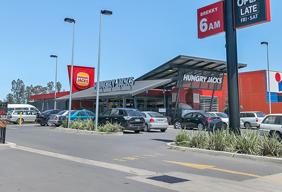 Port Pirie's only Hungry Jacks outlet is to be sold with a 12-year lease.