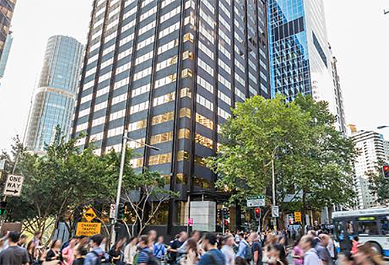 55 Clarence St in Sydney. Picture: Colliers International.