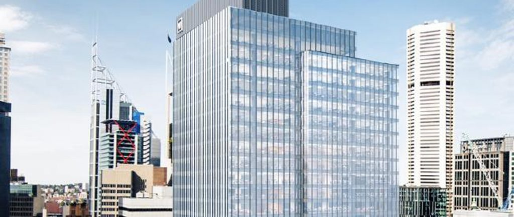 An artist's impression of the Wynyard tower.