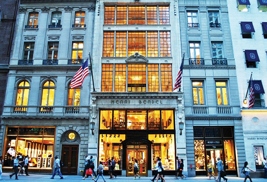 New York's Upper 5th Ave is the world's most expensive strip for retail rents.