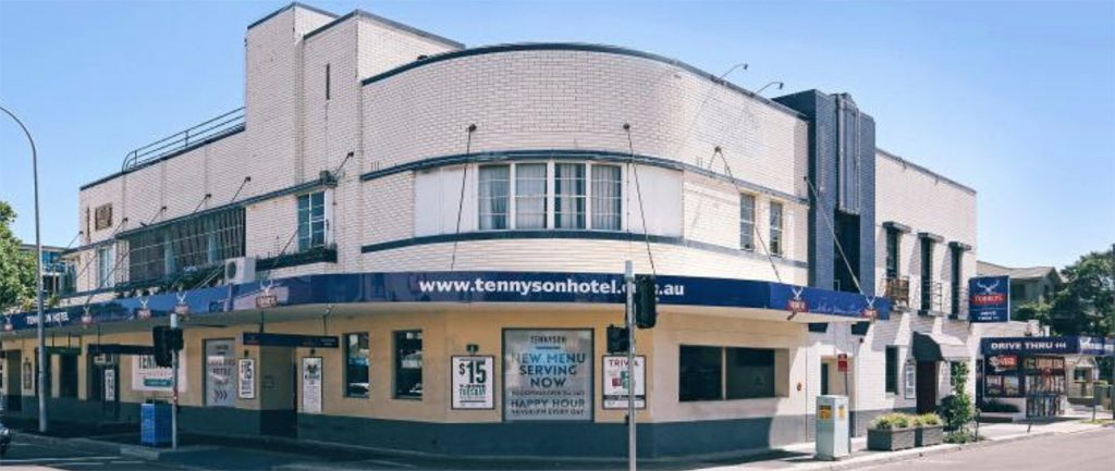 The Tennyson Hotel in Sydney sold for more than $37 million.