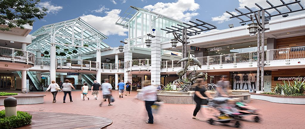 Westfield Warringah Mall. Picture: AMP Capital.