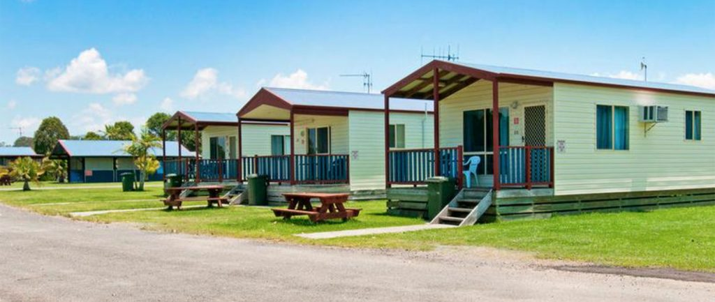 Caravan parks are proving popular with buyers this summer.