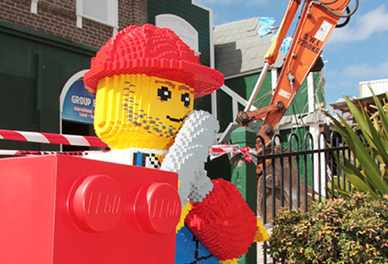 Dreamworld is banking on its new LEGO attraction. Picture: Dreamworld.com.au.