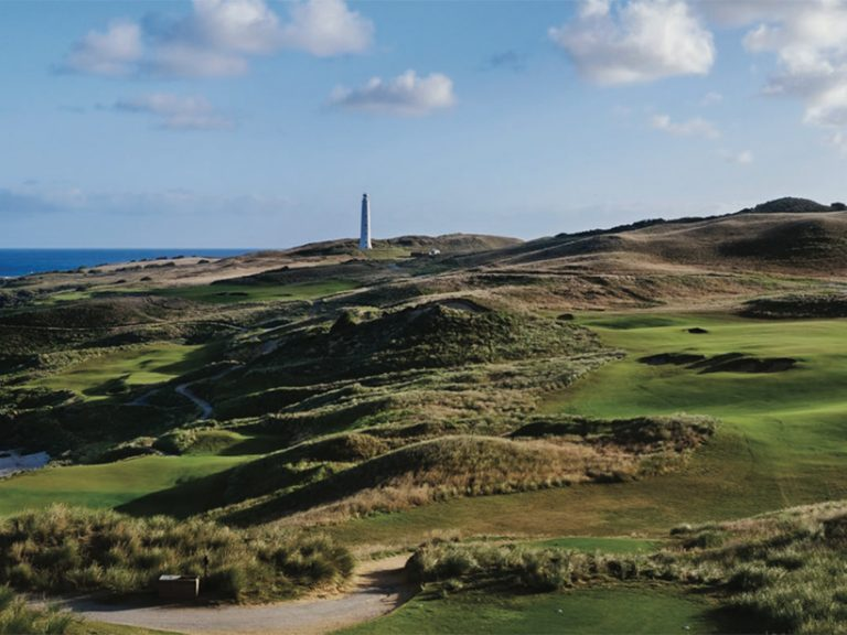 Stunning Cape Wickham golf course for sale