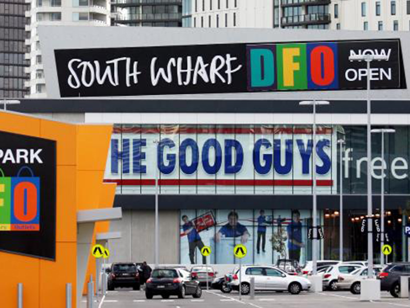 Vicinity Centres owns DFO South Wharf.
