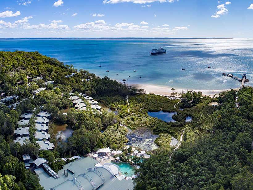 The Kingfisher Bay Resort on Fraser Island. Picture: Supplied.