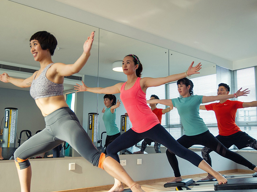 Yoga is among the perks being offered by landlords to attract office tenants.