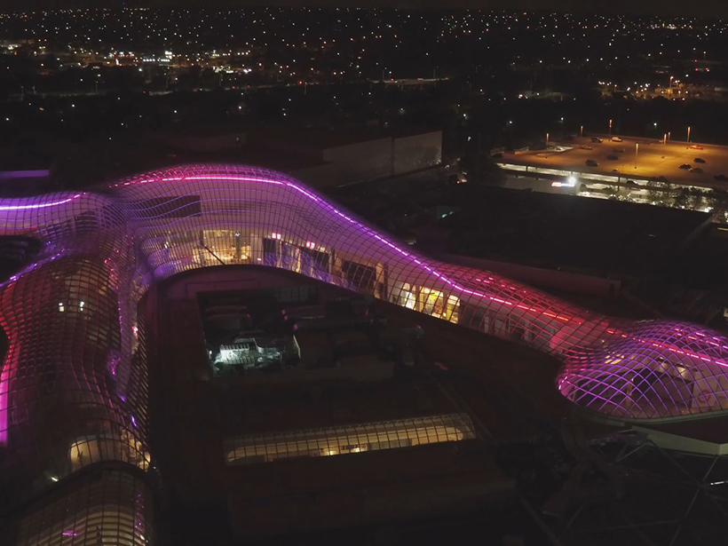 Chadstone Shopping Centre's roof lighting