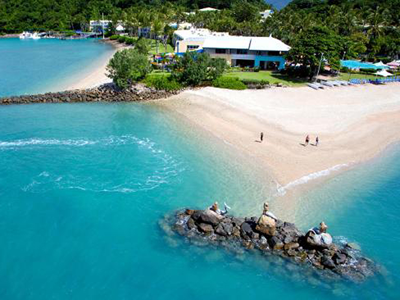 Daydream Island is private but less suitable for cruise lines, says Wayne Bunz.