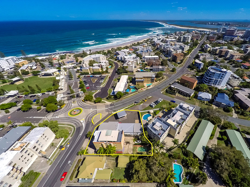 The development site could enjoy views of Kings Beach.