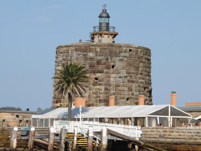Sydney Harbour island fort lease listed again