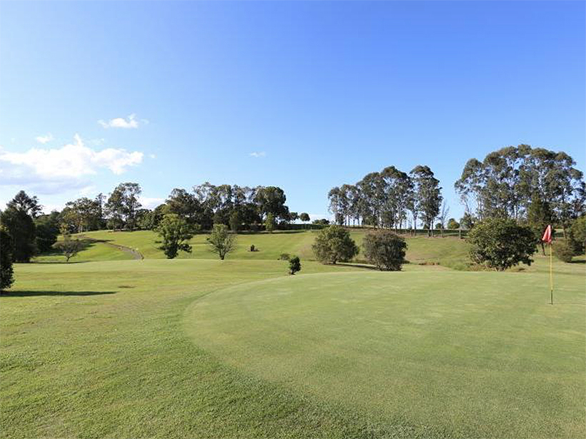 Queensland golf course Gunabul Homestead