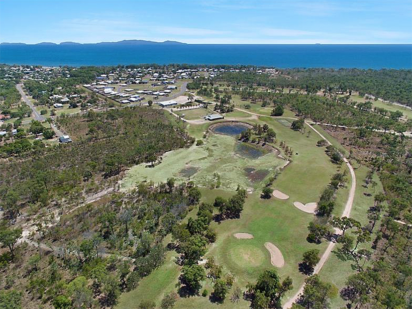 Mystic Sands Golf Course Queensland