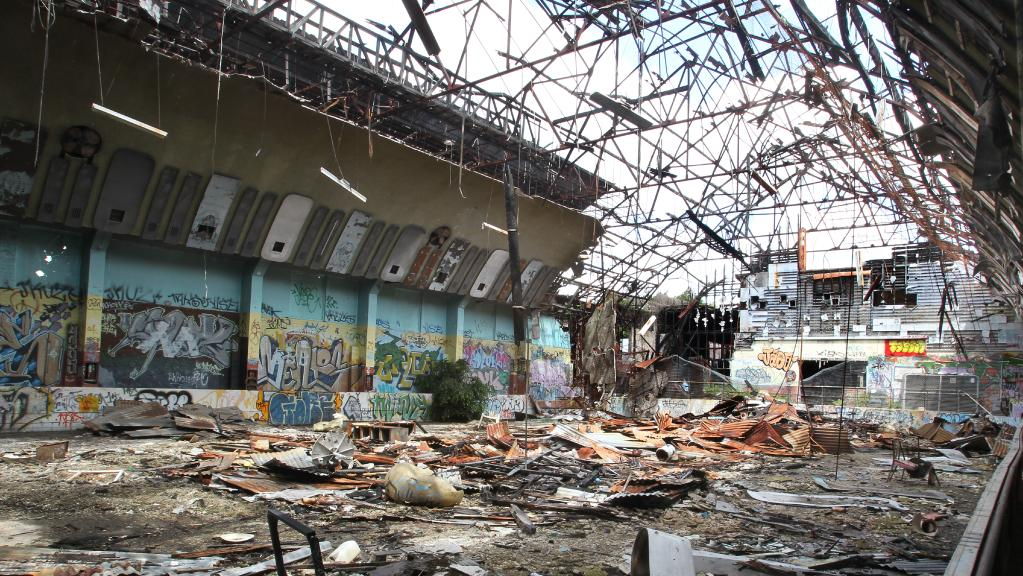 The former Red Hill Skate Arena is edging closer to being redeveloped. Picture: Annette Dew