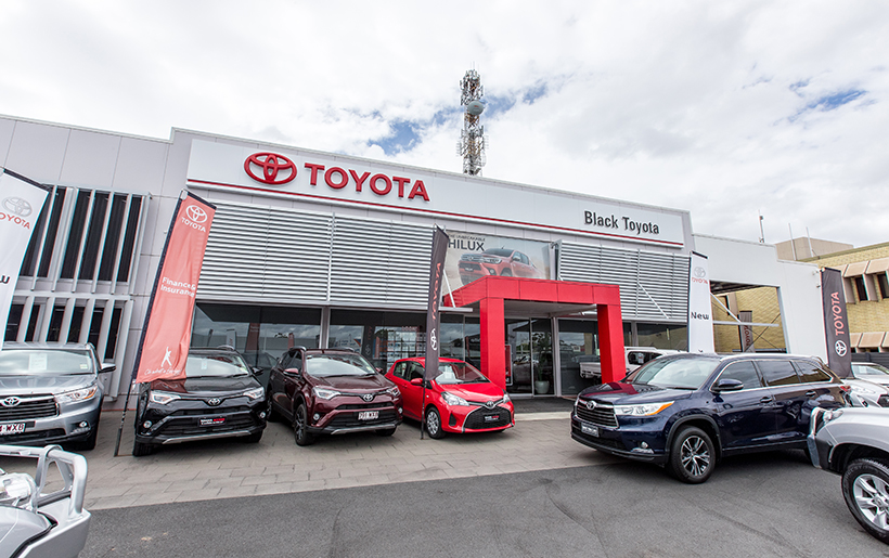 The Black Toyota dealerships are owned by AP Eagers.