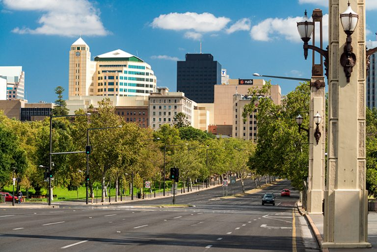 Adelaide fights back in office leasing space race