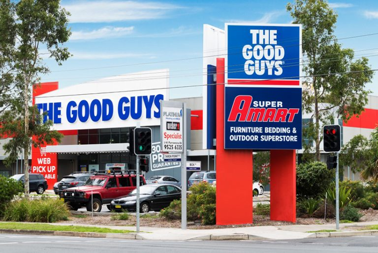 Nine Good Guys stores fetch good, good price in monster deal