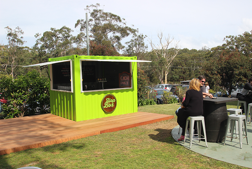 Bar beer shipping container