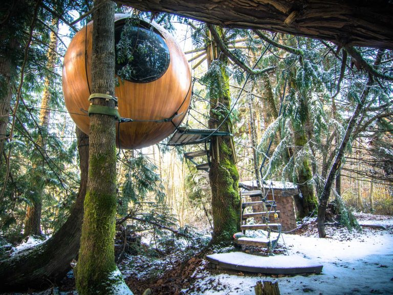 Canadian bubble huts a unique hotel experience