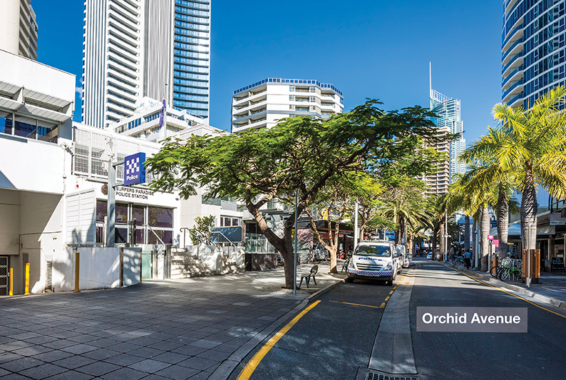 Queensland Police station surfers paradise