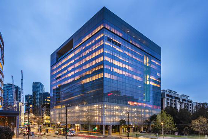 Myer has sold its Docklands headquarters in Melbourne to Canadian group Manulife