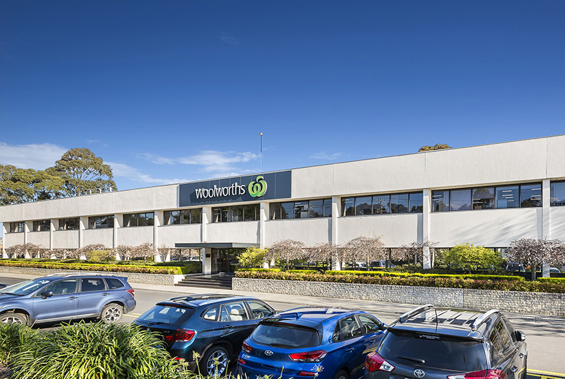 Woolworths industrial distribution centre Mulgrave